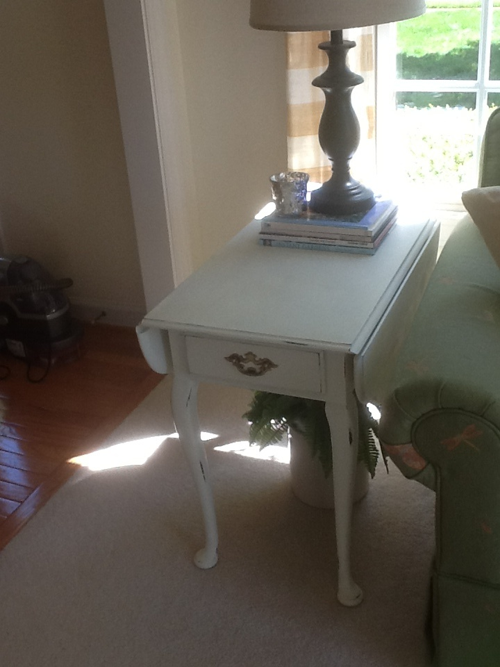 Painting End Tables White