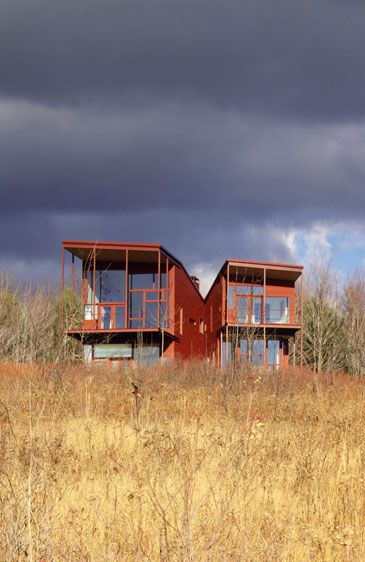 Y HOUSE. 1999. Catskills, New York, United States. Steven Holl