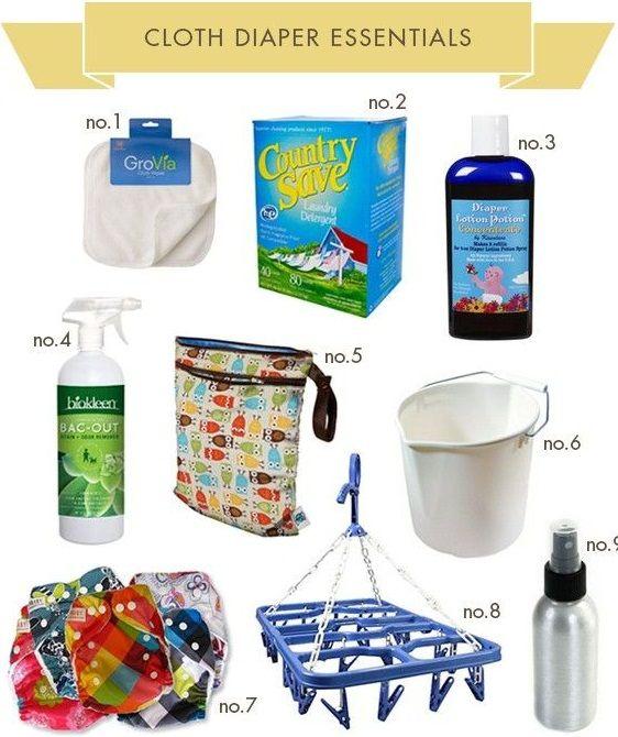 Cloth Diaper Essentials !