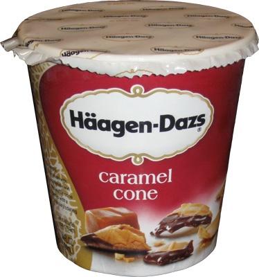 haagen dazs caramel cone