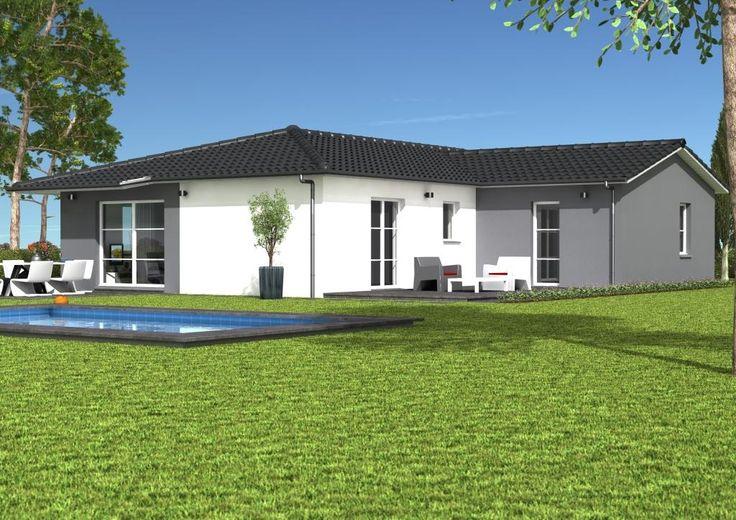 Mod les et plans de maisons mod le de plain pied ligne for Plan de maison cote