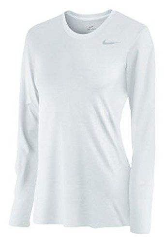 Special Offer: $21.81 amazon.com When we hit the field we need legendary performance we can count on and we found it in this training shirt from Nike. This cool and comfortable Dri-FIT top has the Nike Swoosh logo applied to the left chest. 100% polyester.Dri-FIT fabric to wick away sweat...