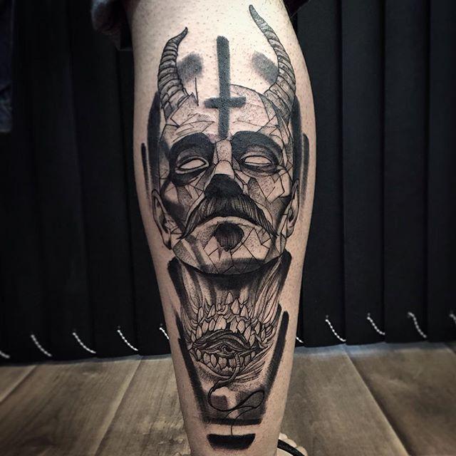 Excellent blackwork tattoo tats art and general shit for Blackwork tattoo artists