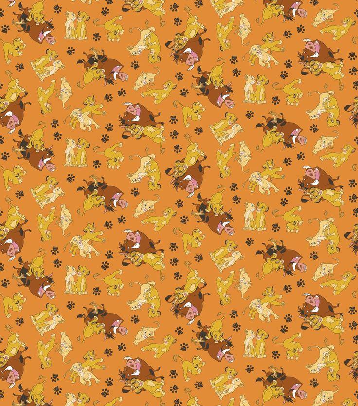 10 Best Lion King Fabrics Images On Pinterest Lion