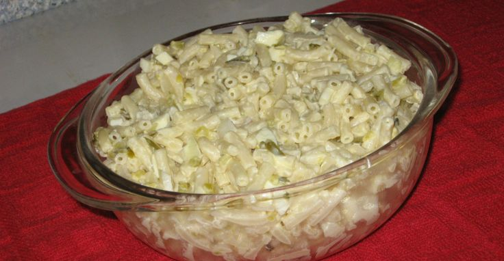 Simple Macaroni Salad Just Like Mom Used To Make - Page 2 of 2 - Recipe Roost