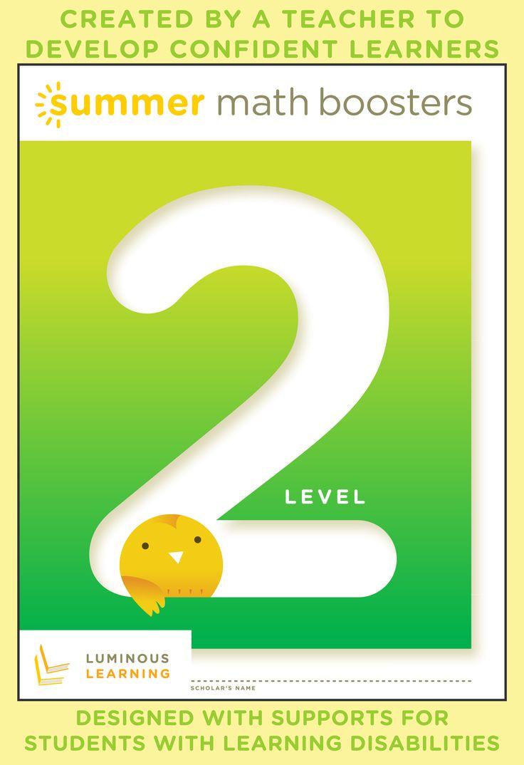Math Boosters Level 2 Learning, Math workbook, Math