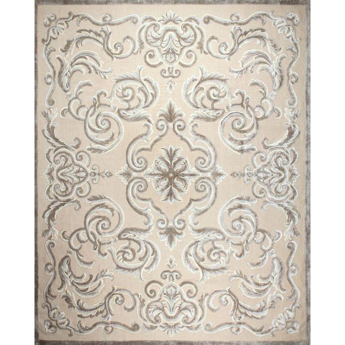 Бежевый ковер с узорами Cardinal Ficelle #carpers #ковер #designer #interior