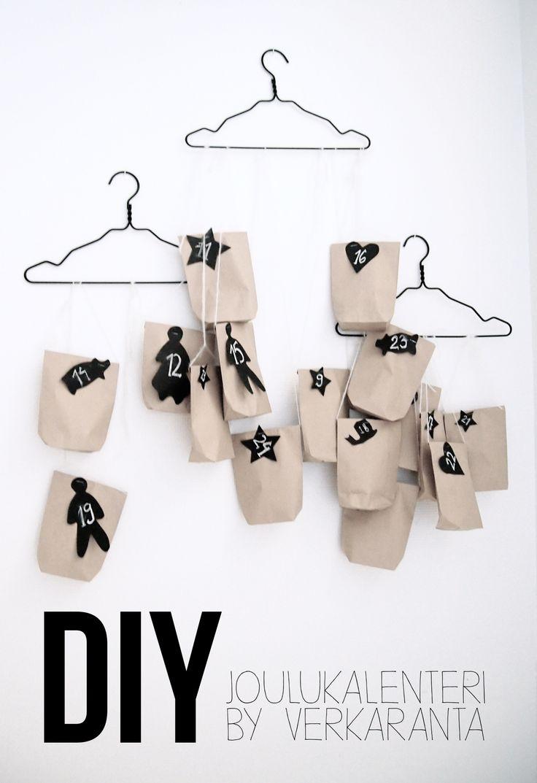 DIY Advent Calendar BY Projekti Verkaranta -blog
