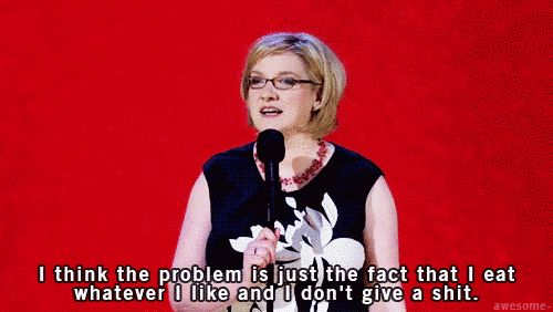 When she made this important point about dieting.   21 Times Sarah Millican Was Each And Every Woman