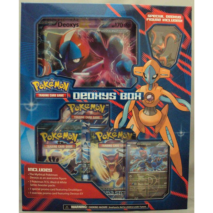 Toys For Cards : Pokemon deoxys box products and toys