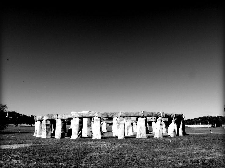 Stonehenge replica Ingram , Texas
