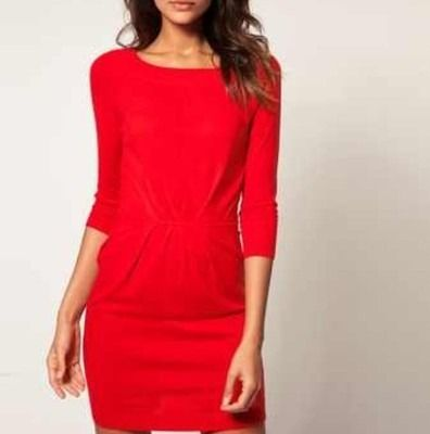 Oswin Oswald Red Dress