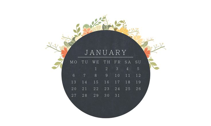 JAnuary 2014 Calendar | This girl loooves: A GIFT FOR A NEW YEAR!