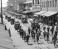 Decoration Day Parade - Brownsville, Texas, Robert Runyon, photographer, 1916