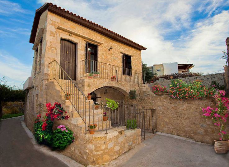 #Dotira! A traditional village home, carefully and tastefully restored! Located in the picturesque village of #Mesi, in #Rethymno, #Greece!