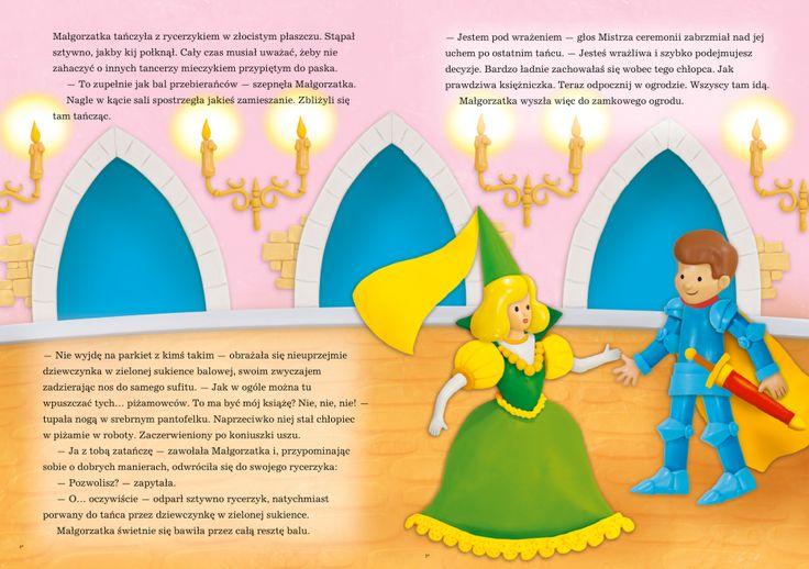 Ilustracja bajki personalizowanej. http://szukamprezentu.pl/ksiazka-konkurs-na-ksiezniczke.html