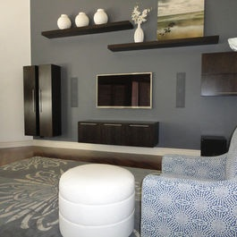 inspiring living room floating shelves | 1000+ images about Shelving on Pinterest | Decorative ...