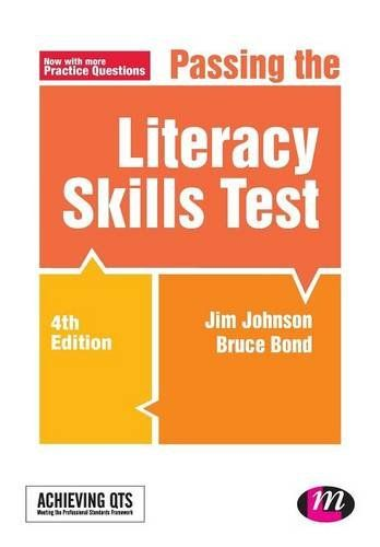 Passing the Literacy Skills Test Achieving QTS Series: Amazon.co.uk: Jim Johnson: Books