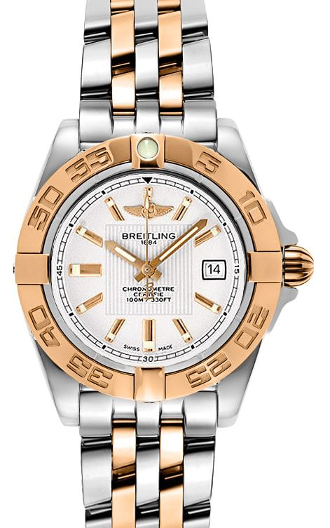 Also Known As Model # C71356    IN STOCK !   Brand new - Never Worn   SPECIAL SALE PRICE - 51 % DISCOUNT  Lifetime Warranty Included ($295 Value)   Breitling Caliber 71  Polished Solid 18K Rose Gold with Steel Case & Pilot Bracelet     Luxury Watches for Ladies | Majordor Luxury Gifts