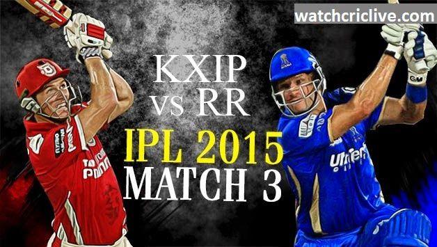 CricBuzz Live Cricket Score - Watch Live IPL Live Streaming: Kings XI Punjab vs Rajasthan Royals - Watch KXIP v...