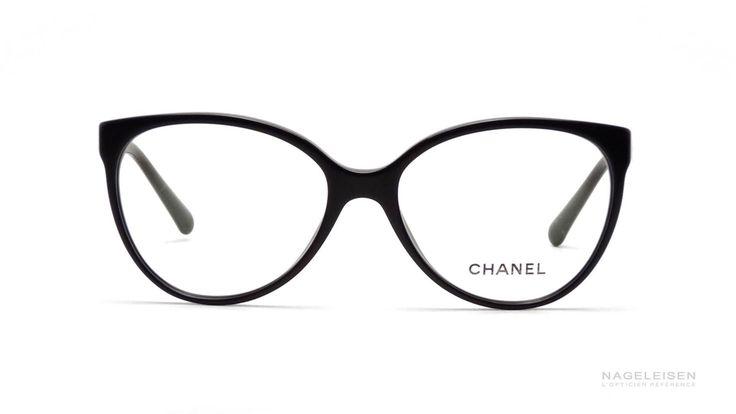 Les Lunettes de Vue Chanel Signature CH 3312 Noir  CH3312 1503 55-16   Visiofactory