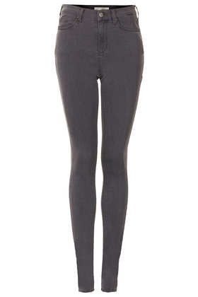 Tall MOTO Grey Leigh Jeans
