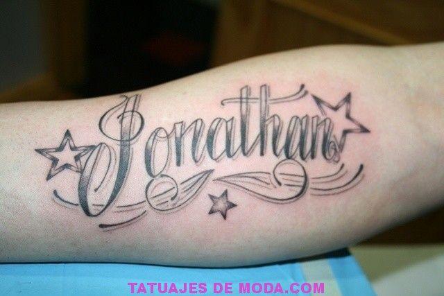 Fotos De Tatuajes De Nombre Jonathan Name Tattoos Tattoos Lettering