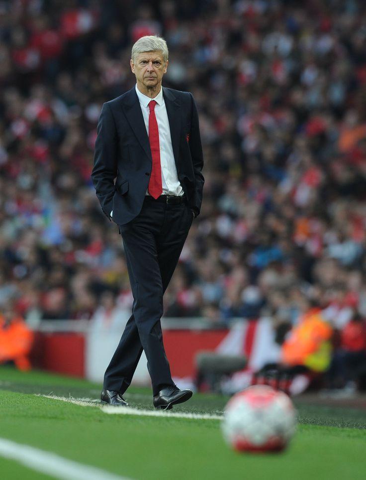 Arsène Wenger. Arsenal v Manchester United, 3-0. October 04, 2015.