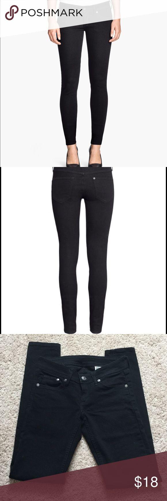 nwot super skinny super low black jeans by h black. Black Bedroom Furniture Sets. Home Design Ideas