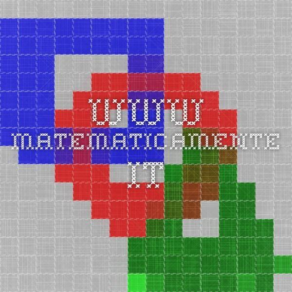 www.matematicamente.it  ECDL