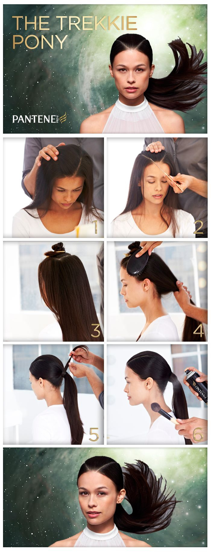 Futuristic Halloween Hair and Halloween Hair Inspiration