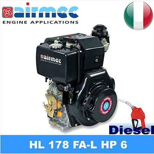 #Motore diesel hl178 fa-l hp 6  ad Euro 542.41 in #Kelkoo #Utensili elettrici