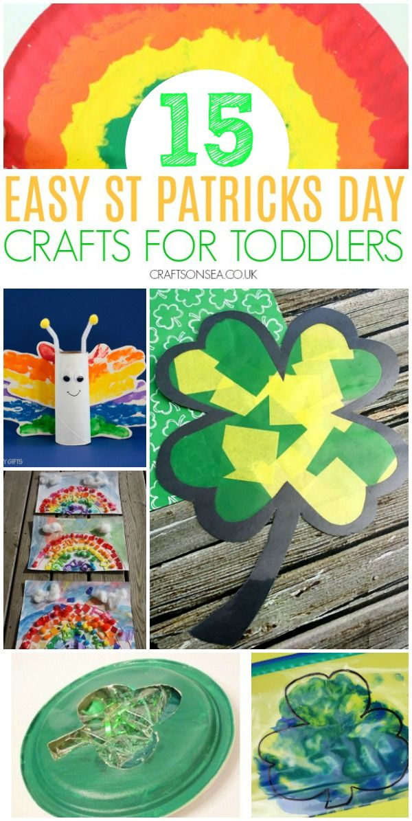 Easy And Fun St Patrick S Day Crafts For Toddlers St Patricks