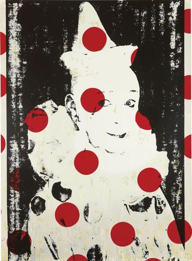 Ford Beckman http://www.kunsthaus-artes.de/de/790093.00/Ford-Beckman-Bild-Clown-Portraits-1-1994/790093.00.html#q=Beckman&start=2