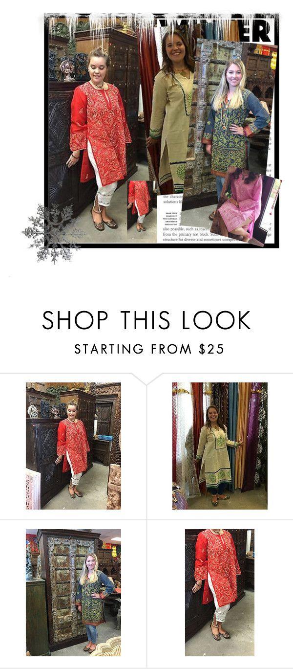 Indian Ethnic Embroidered Long Tunic Dress by baydeals on Polyvore   http://stores.ebay.com/mogulgallery/DESIGNER-KURTI-/_i.html?_fsub=665889019&_sid=3781319&_trksid=p4634.c0.m322