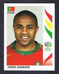 Image result for germany 2006 panini portugal andrade