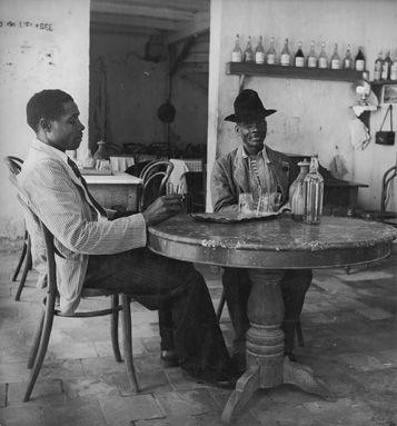 """Denise Colomb - """"Buveurs de punch"""" - Martinique (1948)"""