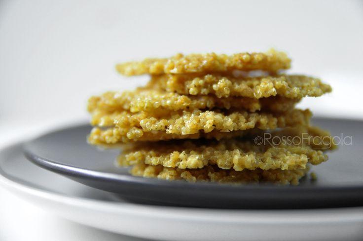 Cialde di Miglio alla Paprika - snack veloce