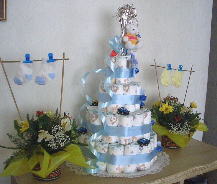 pa ales centros de mesa y recuerdos para fiestas de baby shower