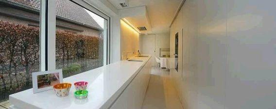 Lange smalle keuken ideas for our house maybe even a little dreaming pinterest articles - Smalle keuken ...