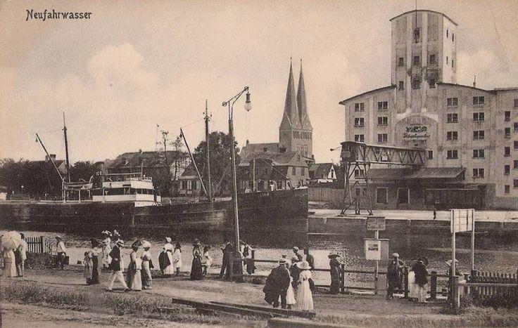 Dzielnica, Nowy Port (Neufahrwasser)