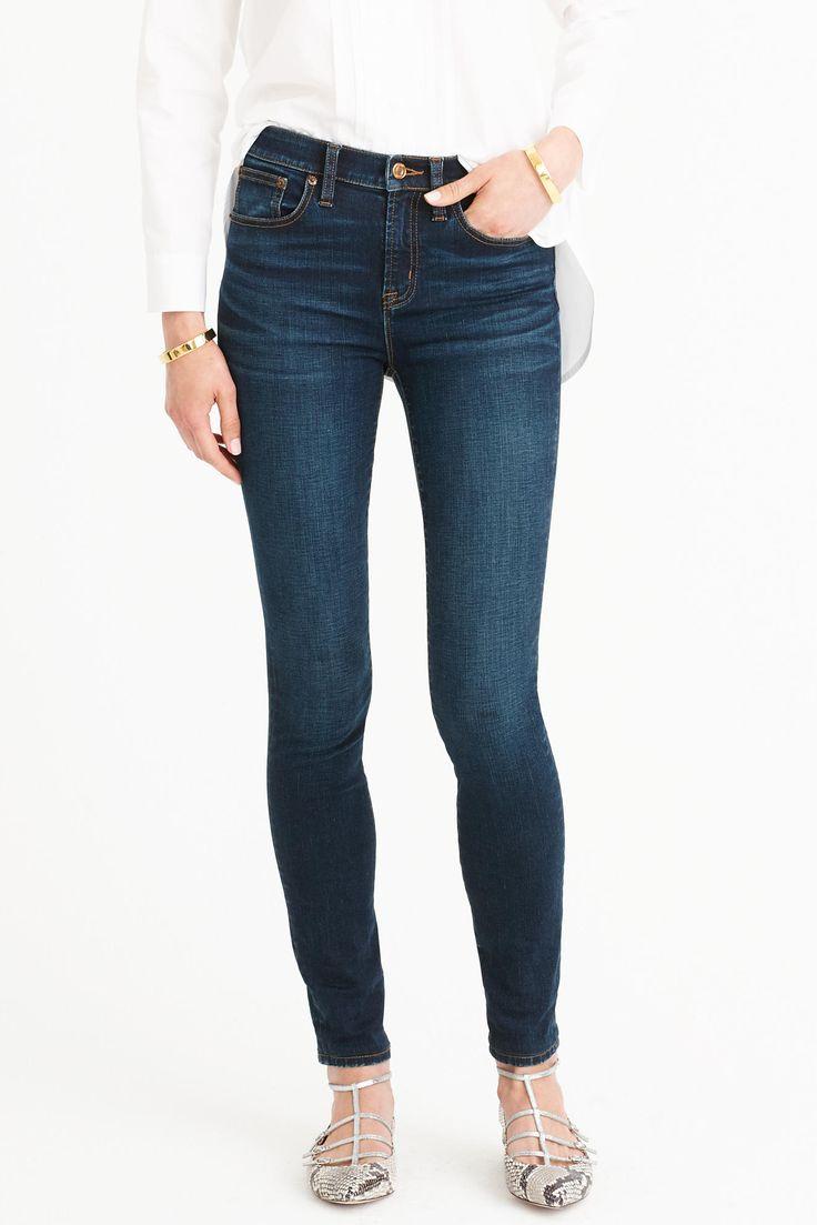 j.crew high rise jeans
