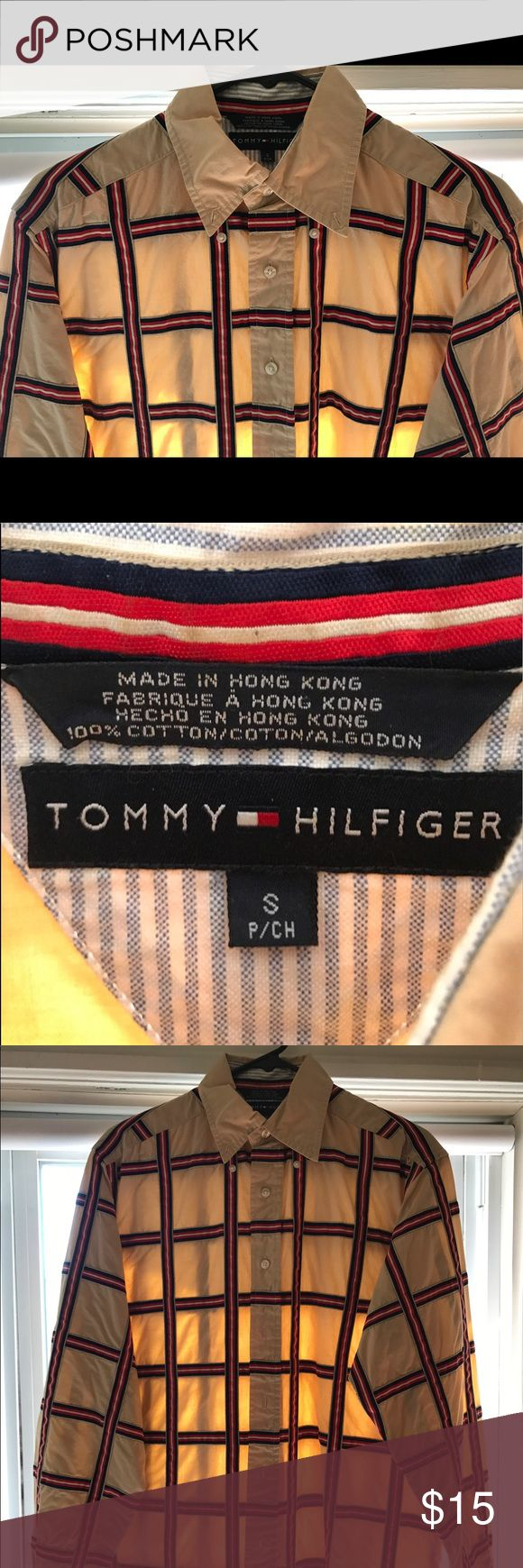 Tommy Hilfiger Dress Shirt **WERM'S WEARS** Great condition, used, Tommy Hilfiger Dress Shirt. Only worn a few days. Just not my style, could be yours though! FREE SHIPPING. Tommy Hilfiger Shirts Dress Shirts