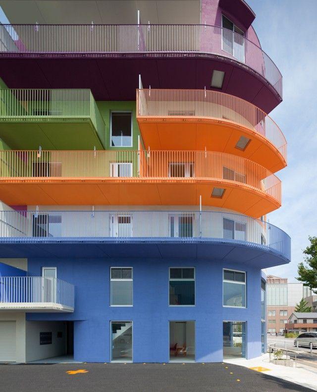 Apartment Building Color Schemes 44 best apartment balconies / outdoors images on pinterest