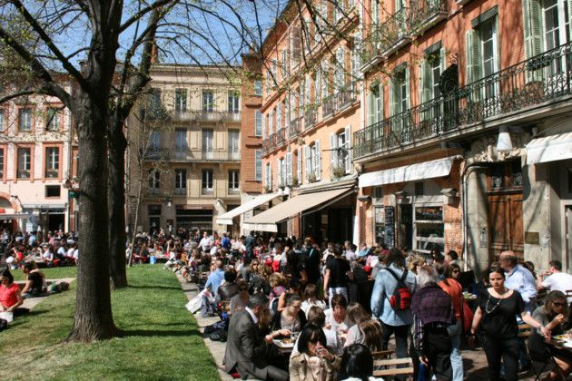 Restaurants, cafés et commerces : voici la carte de toutes les terrasses à Toulouse