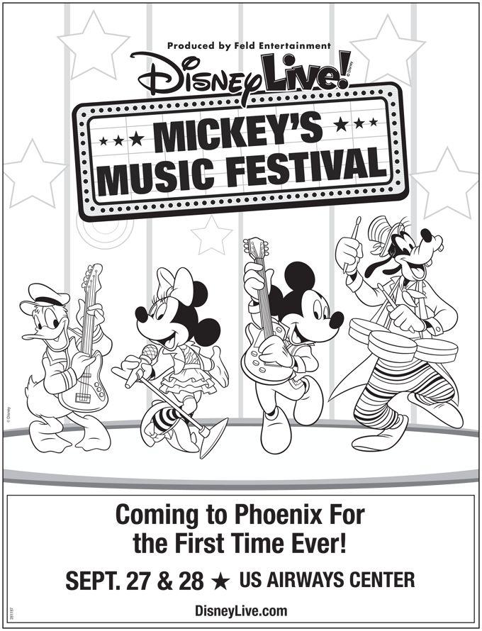Disney Live! Mickey's Music Festival/Sept 27-28, 2014/US Airways Center/Phoenix, AZ