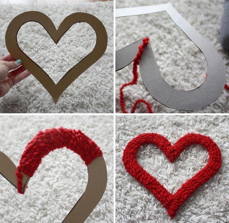 corazones preciosos hechos a mano