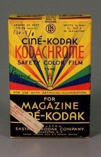 Kodachrome film. Courtesy of George Eastman House