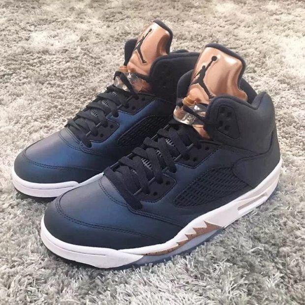 5ac4d81a71e Air Jordan 5 Retro - Bronze Metallic Blue Nike Men's Sz 11.5 #fashion  #clothing #shoes #accessories #mensshoes #athleticshoes (ebay link)