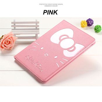 For Apple iPad mini 2 case cartoon hello kitty case holder stand smart cover for iPad mini 1 2 3
